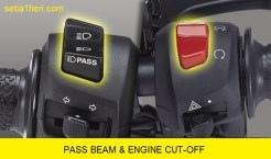passbeam dan engine cut pada All New Vixion facelift tahun 2017