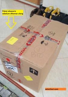 pengalaman kirim paket aksesoris motor ke malaysia tahun 2017