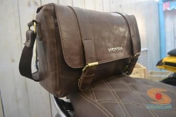 tas kulit retro untuk scoopy modifikasi vespa tahun 2017