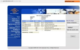 traking kiriman ke luar negeri via ems pos indonesia