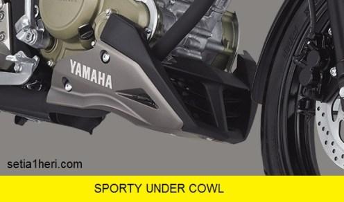 under cowl sporty di All New Vixion facelift tahun 2017