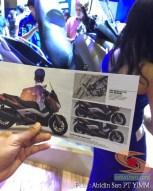 brosur detail yamaha xmax 250 tahun 2017