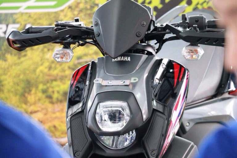 lampu led dan drl yamaha x-ride 125 cc tahun 2017