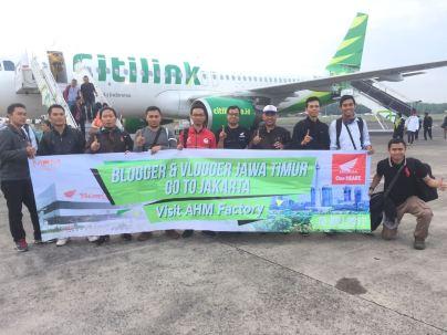Blogger dan Vlogger Jawa Timur kunjungi pabrik motor Honda di Plant Karawang Juli tahun 2017 (4)