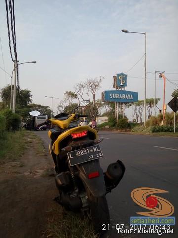 KHS Ngincipi Yamaha Aerox 155 VVA buat harian wira-wiri Gresik – Surabaya (7)