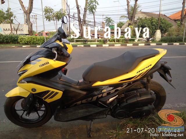 KHS Ngincipi Yamaha Aerox 155 VVA buat harian wira-wiri Gresik – Surabaya (8)