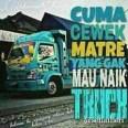 Kumpulan Tulisan kaca samping truck canter yang bikin gerrr.....gerrr... (19)