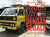 Kumpulan Tulisan kaca samping truck canter yang bikin gerrr.....gerrr... (22)
