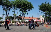 Serunya Honda CB150R StreetFire Konvoi Kemerdekaan 2017 di Kota Surabaya (13)