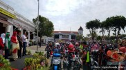 Serunya Honda CB150R StreetFire Konvoi Kemerdekaan 2017 di Kota Surabaya (2)