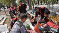 Serunya Honda CB150R StreetFire Konvoi Kemerdekaan 2017 di Kota Surabaya (9)