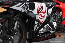 gambar modifikasi Honda CBR250RR Special Edition tema The Art of Kabuki tahun 2017