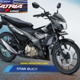 Warna baru Suzuki All New Satria F150 - 2017 - Titan Black