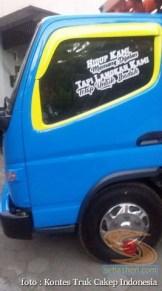 Kumpulan Tulisan lucu di kaca samping truk ....hehehe....gokil 2017 (7)