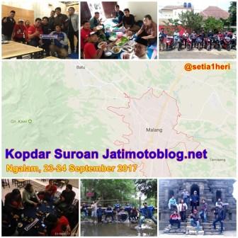 kopdar suroan jatimotoblog net tahun 2017 di Ngalam