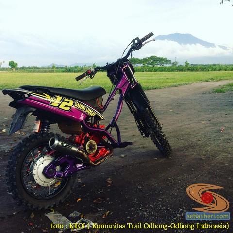 Kumpulan Gambar Motor Trail Basis Motor Matic Alias Trail Matic