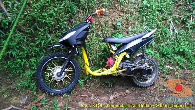 Kumpulan Gambar Motor Trail Basis Motor Matic Alias Trail Matic 4