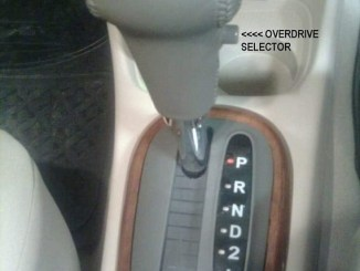 Matic 4 speed dengan OD off Button