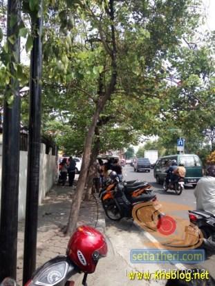 Pengalaman bayar pajak motor tahun 2017 di Samsat Keliling depan THR Surabaya (3)