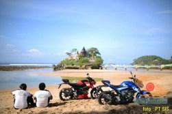Suzuki GSX-S150 explorasi Pesisir Pantai Selatan Malang 2017 (3)