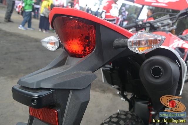 Gambar detail trail Honda CRF150L tahun 2017 (13)