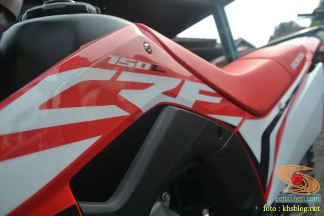 Gambar detail trail Honda CRF150L tahun 2017 (3)
