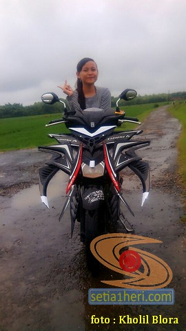 Wow Modifikasi Honda Beat Predator asal Blora