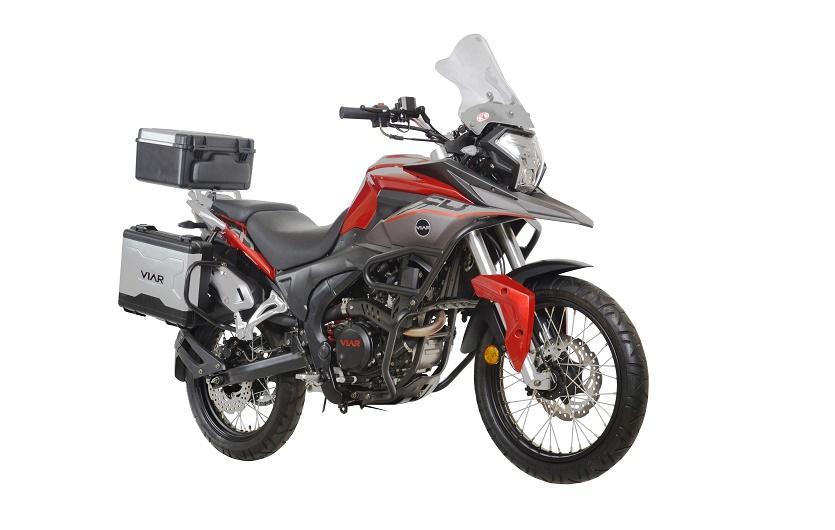 Spesifikasi, harga dan pilihan warna motor adventure Viar Vortex 250