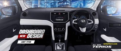 dashboard mobil All New Daihatsu Terios tahun 2017