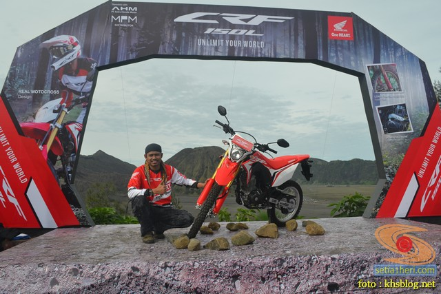 khs bersama honda trail crf150l di Bromo Jawa Timur (1)