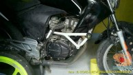 Kumpulan gambar frame slider alias tubular atau crash bar pada Honda New Megapro (5)