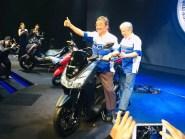 Penampakan Yamaha Lexi 125 cc tahun 2018...mirip adiknya NMAX gans.. (7)