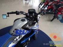 gambar detail Modifikasi sadis Suzuki GSX S 150 dari Kota Pahlawan tahun 2018 (5)