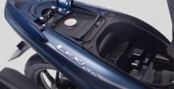 kapasitas bagasi Yamaha Lexi 125 VVA dan Lexi S tahun 2018