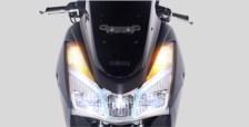 lampu depan Yamaha Lexi 125 VVA dan Lexi S tahun 2018