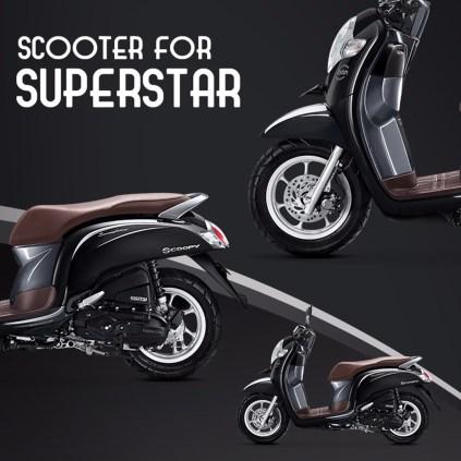 7 Pilihan warna dan stripping baru New Honda Scoopy tahun 2018 (14)