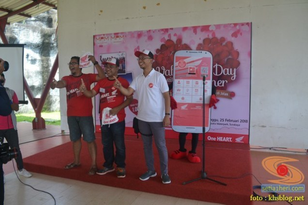 Momen Valentine Day, MPM gelar family gathering bersama konsumen loyal Honda di Ciputra Waterpark (3)