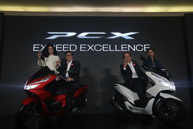 peluncuran honda pcx lokal indonesia tahun 2018