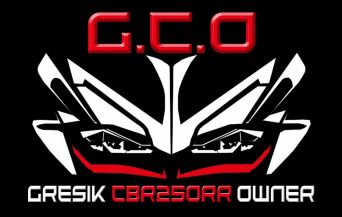 komunitas CBR250RR di Gresik Jawa Timur