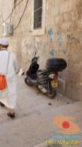 Kumpulan foto motor di sekitar Al-Aqsa, Palestina