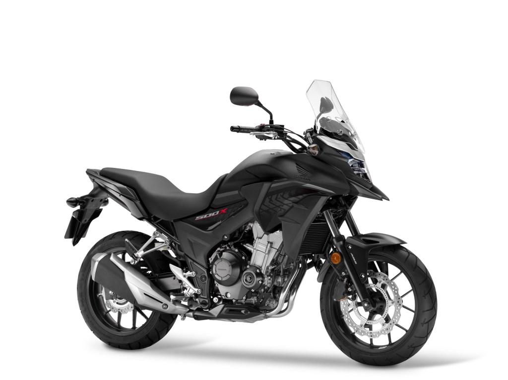 Warna baru moge Honda CB500F dan CB500X tahun 2018