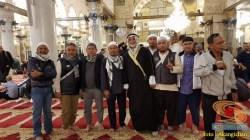 akang ichan bandung di masjid al-aqsa