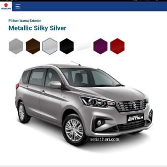 pilihan warna mobil terbaru Ertiga tahun 2018~01
