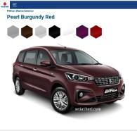 pilihan warna mobil terbaru Ertiga tahun 2018~03