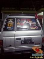 ragam posisi antena HT di mobil bagian belakang