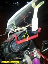 Ada ular nempel di motor, kode togel