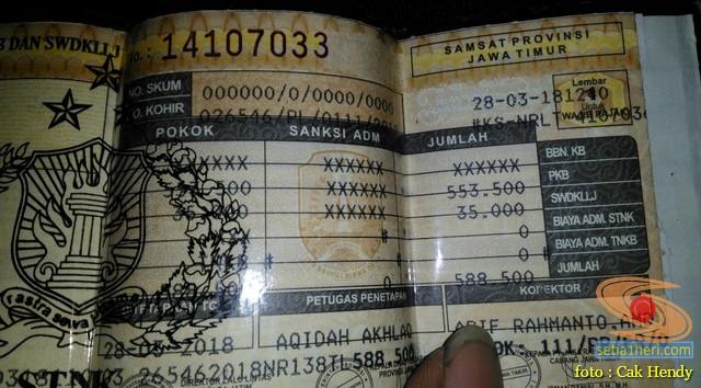 Inilah besaran pajak motor Yamaha MT25 tahun 2018 di Jawa Timur