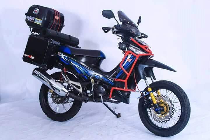 Inspirasi Gambar Modifikasi Honda Supra X 125 Pakai Tubular Setia1heri Com