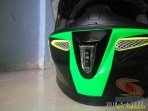 Review Helm KYT K2 Rider Super FLuo tahun 2018 (11)