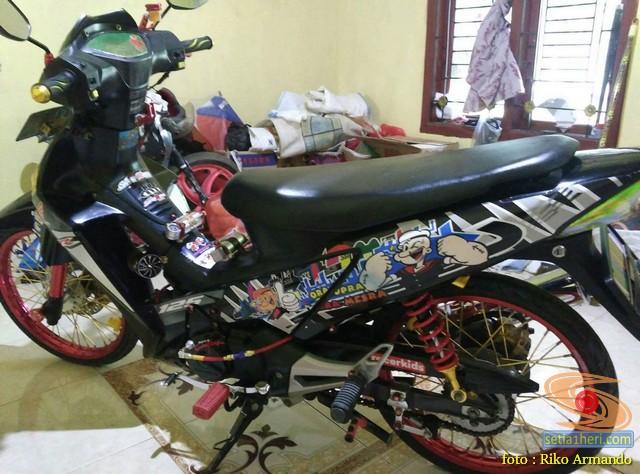 Rincian harga pernak-pernik modifikasi Honda Supra X 125
